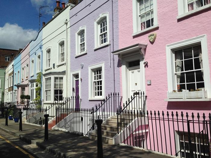 Pinkes Haus in der Kingsroad