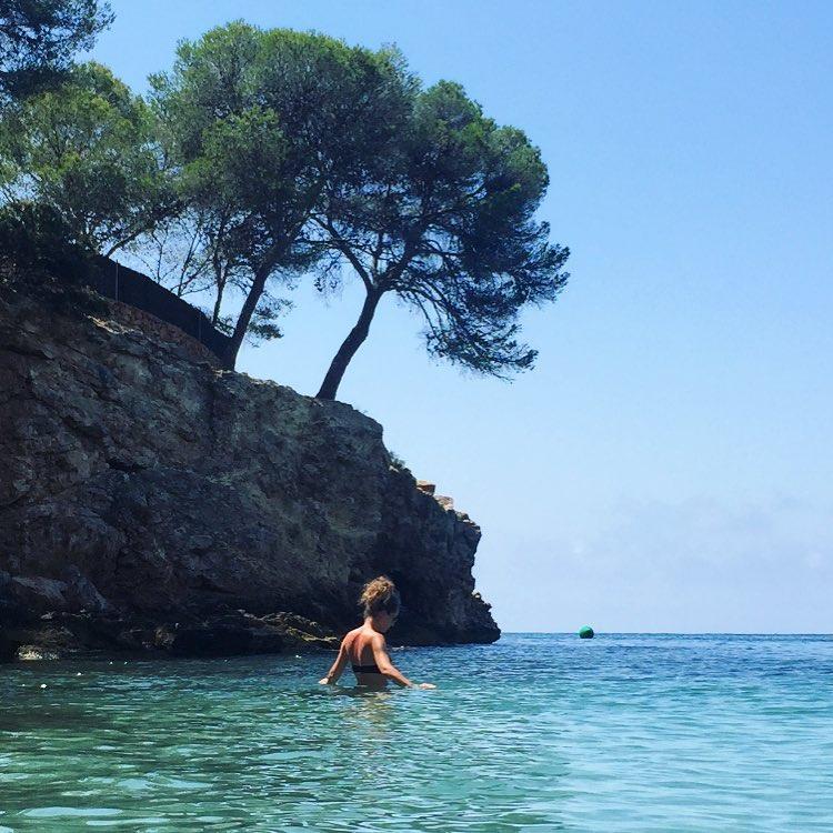 mallorca schonvorbei mallorca2017 beach cala potalsnous calaportalsnous mediterraniansea bluesky tbhellip