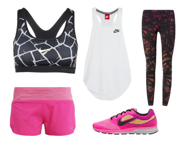 Sportbekleidung von Nike