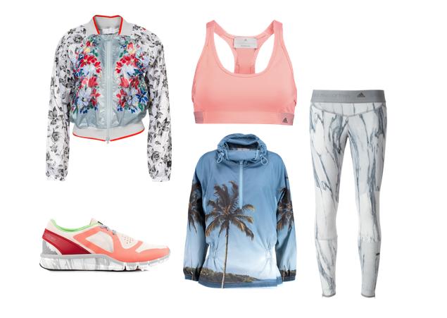 Sportbekleidung von Adidas