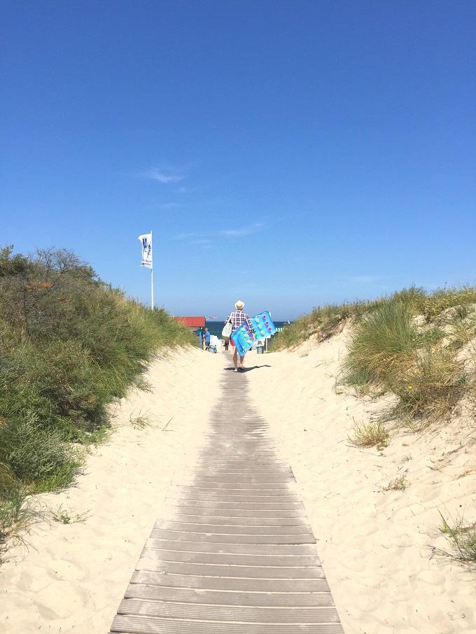 Strandaufgang Warnemünde Strand