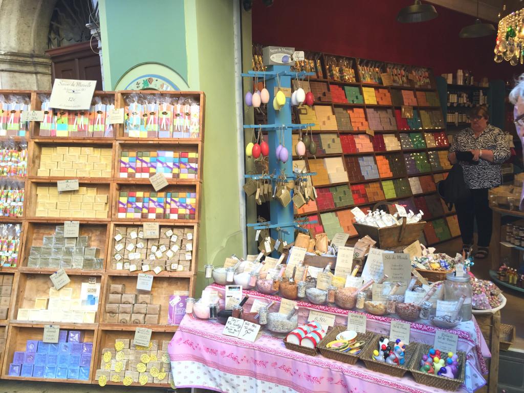 Geschäft in der Altstadt von Nizza