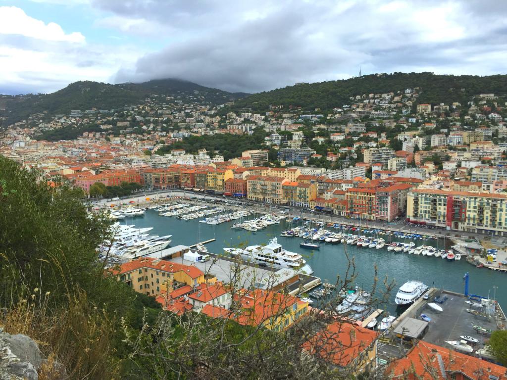 Hafen in Nizza