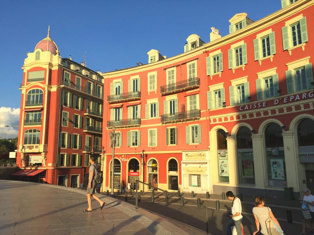 Nizzas Innenstadt